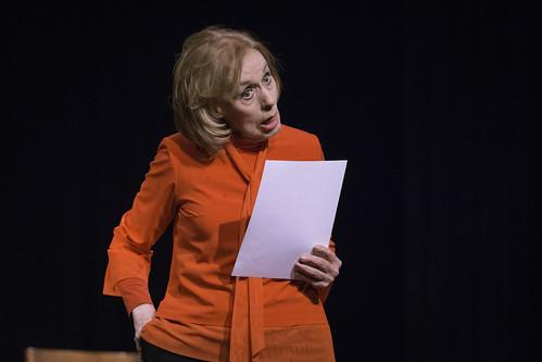 """Obra: """"sólo una actriz de teatro"""""""