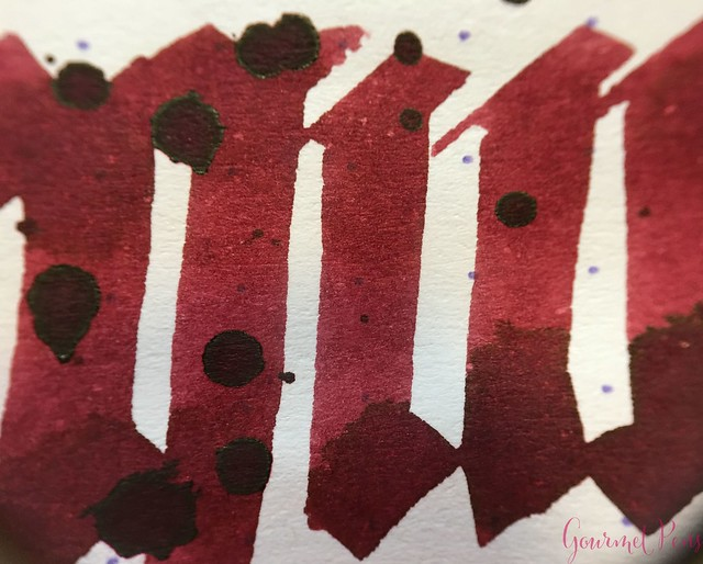 Ink Shot Review Diamine Anniversary Burgundy Royale @AppelboomLaren 10