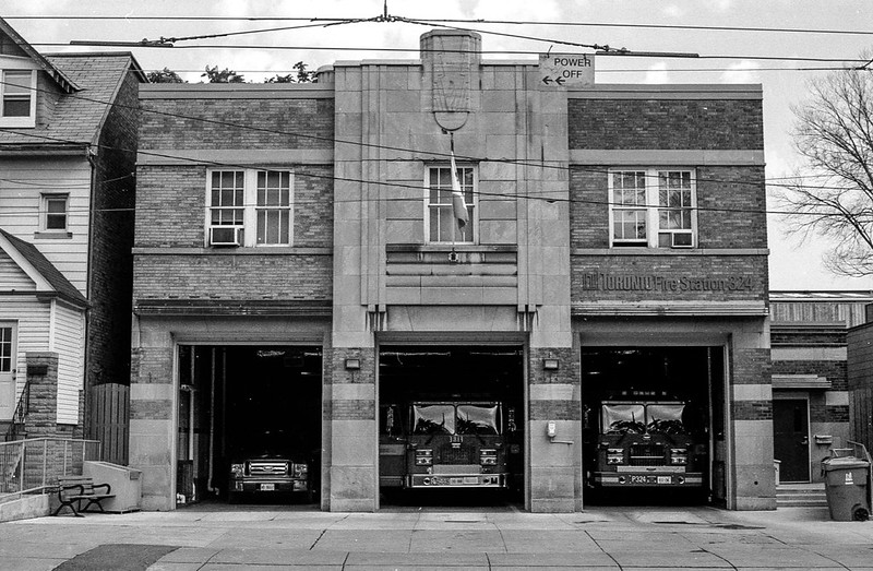 Art Deco Fire Station