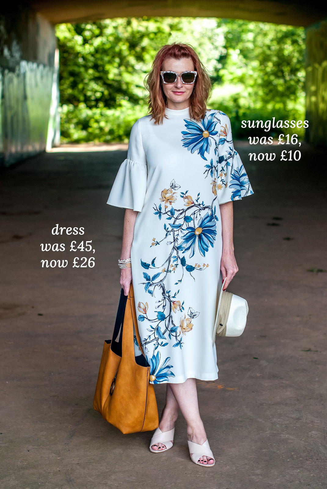 21 Things I Wore on the Blog, Now Reduced in the Summer Sales | Marks & Spencer floral midi dress