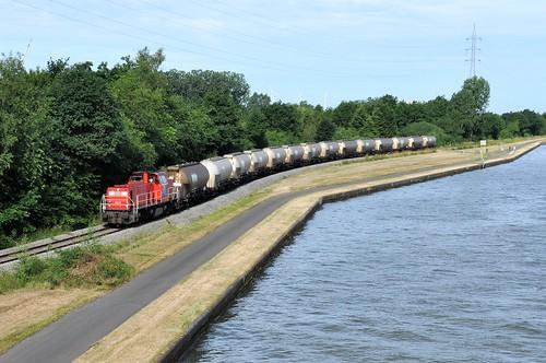DBC 6517 met de eerste PTA trein naar BP Geel die zaterdag.
