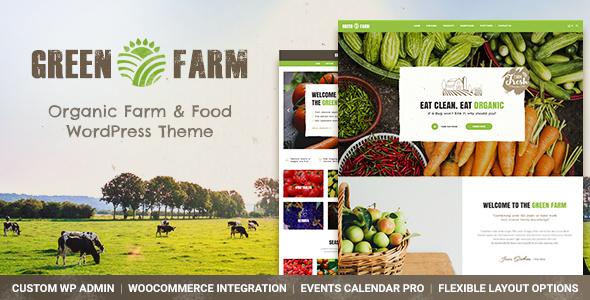 Green Farm v1.0 - Organic Food Farm & Eco Food Store