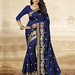 Navy Blue Art Silk Party Wear Sarees published on Wilori click http://wilori.com/product/navy-blue-art-silk-party-wear-sarees/  to open by wilori