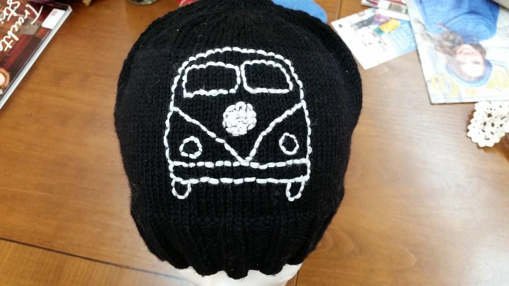 Mütze mit VW-Bus