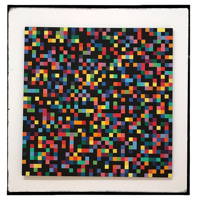 I'm not sure why, but Ellsworth Kelly's Spectrum Colors Arranged by Chance makes me happy.