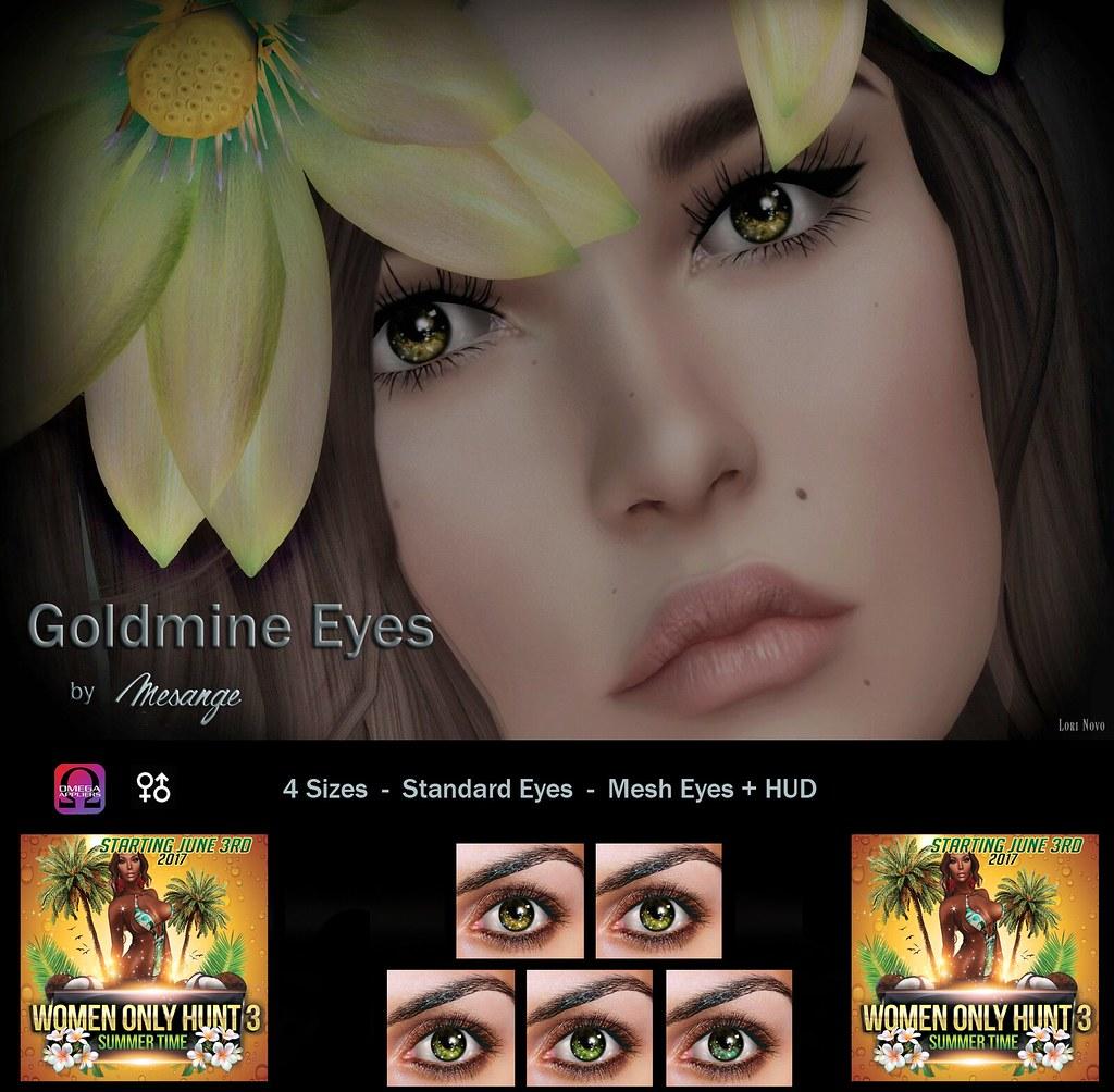 MESANGE - Goldmine Eyes for WOH3 - SecondLifeHub.com