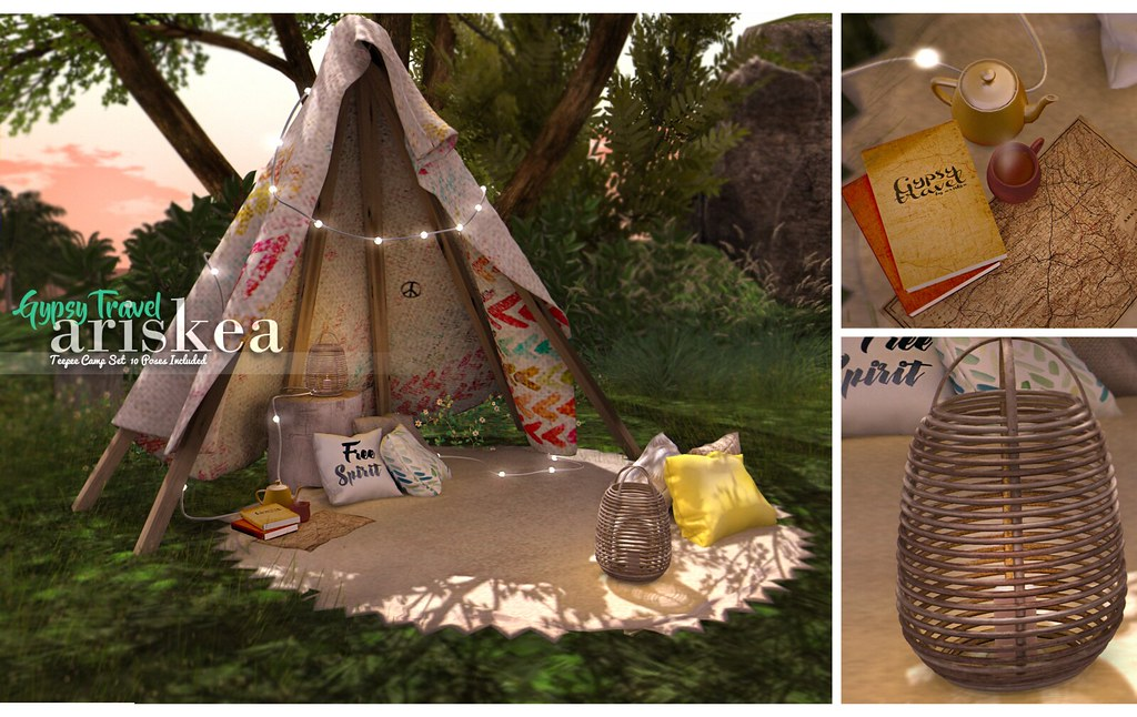 Collabor88-Ariskea- Gypsy Travel - SecondLifeHub.com