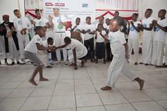 Goma, North Kivu, DR Congo: On the occasion of the International Day of the African Child (on 16 June 2017), demobilized and vulnerable children offered a Capoeira show at the Heal Africa Hospital in Goma.