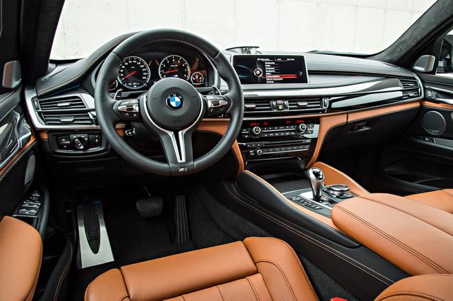 [新聞照片四] 全新BMW X5 M、BMW X6 M升級Full leather Merino全真皮內裝並搭載BMW智能衛星導航含10.25吋觸控螢幕及智慧互聯駕駛套件