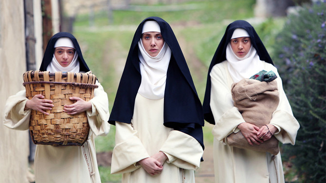 Kate Micucci, Alison Brie and Aubrey Plaza wile away THE LITTLE HOURS.