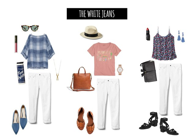 3 ways to wear white jeans | Style On Target