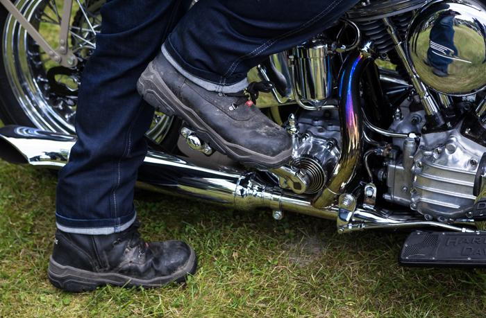 Joutsa Chopper Show 2017 Harley Davidson käyntiin polkaiseminen polkeminen jalkastartti  (1 of 1)