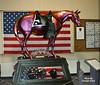 Fallen Heroes Memorial Pony by Carolyn Arzac