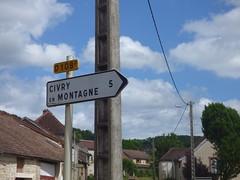 Grande Rue, Grosbois-en-Montagne - D108F signs