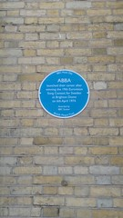 Photo of ABBA blue plaque