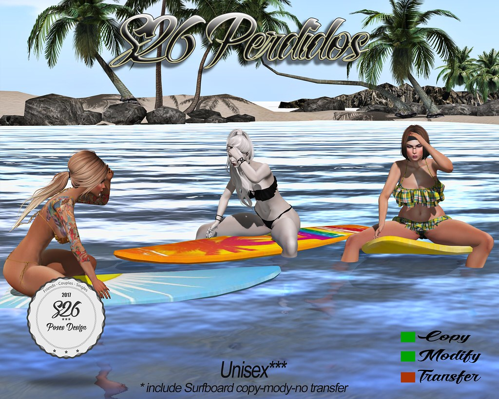 **New pose s26 perdidos** - SecondLifeHub.com