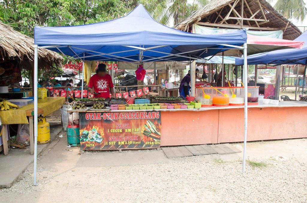 Other food stalls at Cendol Bakar Kuala Selangor