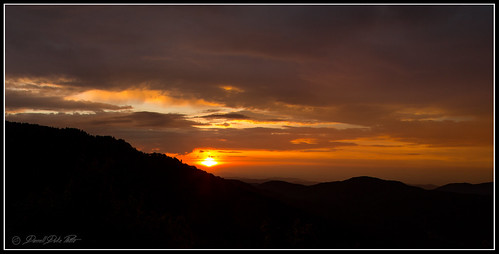 sunset sunsets tennessee roanmountains