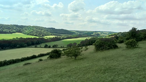 North Easterly view from Cobstone/Turville Hill