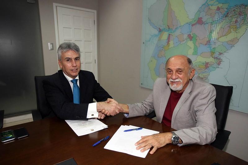 Governador Simão Jatene recebe Procurador de Justiça Gilberto Valente...FOTO: ANTÔNIO SILVA / AG. PARÁ.DATA: 30.06.2017.BELÉM - PARÁ