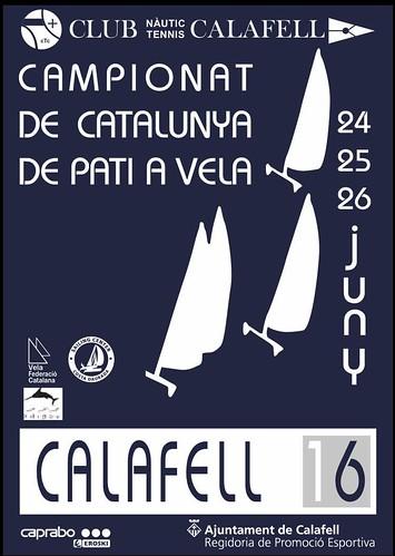 Cartell del Campionat de Catalunya de Pati del 2016