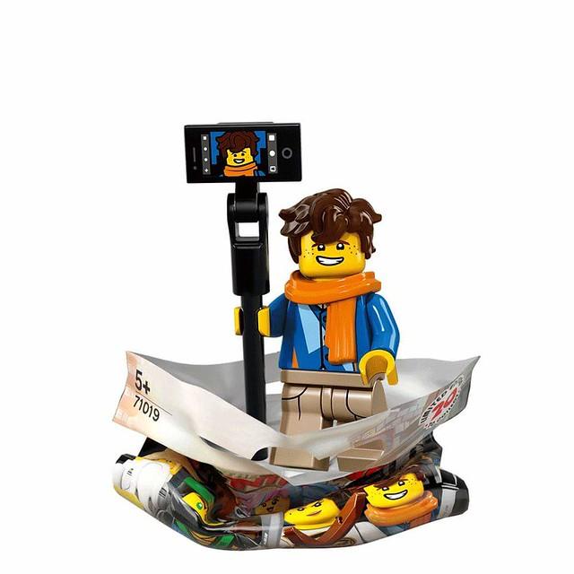 The LEGO Ninjago Movie 71019 Collectible Minifigures 15