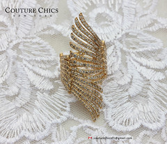 18K Solid Yellow Gold Natural Diamond Pave Wrap Ring Handmade Jewelry