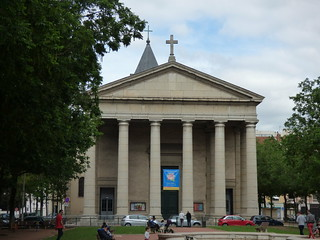 Avenue Maréchal de Saxe, Lyon - Place Edgar Quinet - Église Saint-Pothin