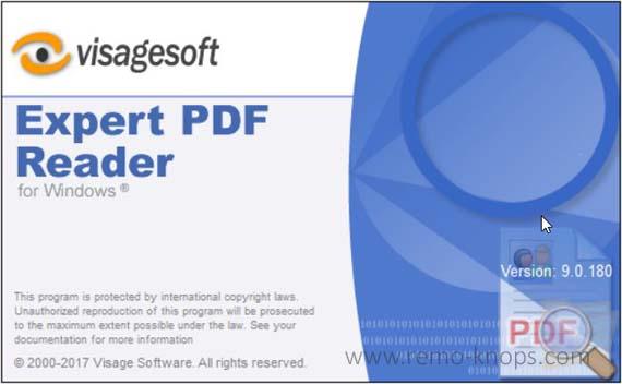 Visagesoft Expert PDF Reader 160