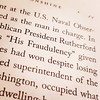 "Hmmm. According to David Baron's book American Eclipse, Democrats nicknamed Rutherford B. Hayes ""His Fraudulency"" because he won the 1876 presidential election despite losing the popular vote. Sound like anyone you know?"