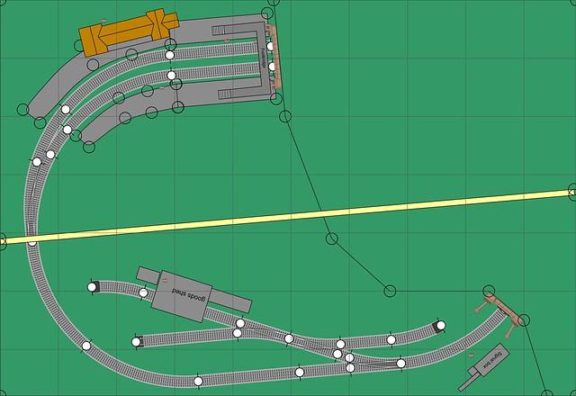 N Gauge 3ft 3in x 2ft 3in Track Plan