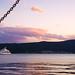boka kotorska: Море на закате с набережной Тивата