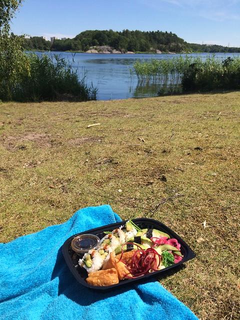 Lunchträning och kvällsmys