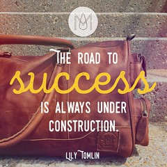 The Road to Success: Inspirational Quote