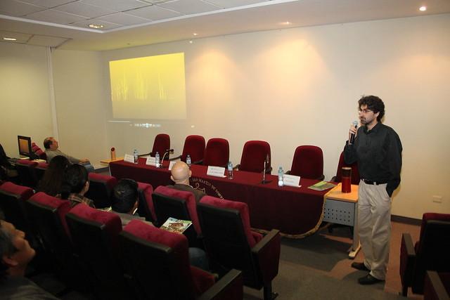 Instituto de Vivienda, Urbanismo y Construcción de la USMP desarrolló el Conversatorio Acero Vegetal III