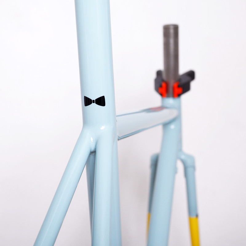 AYA Bikes Frame & Fork Painted by Swamp Things.
