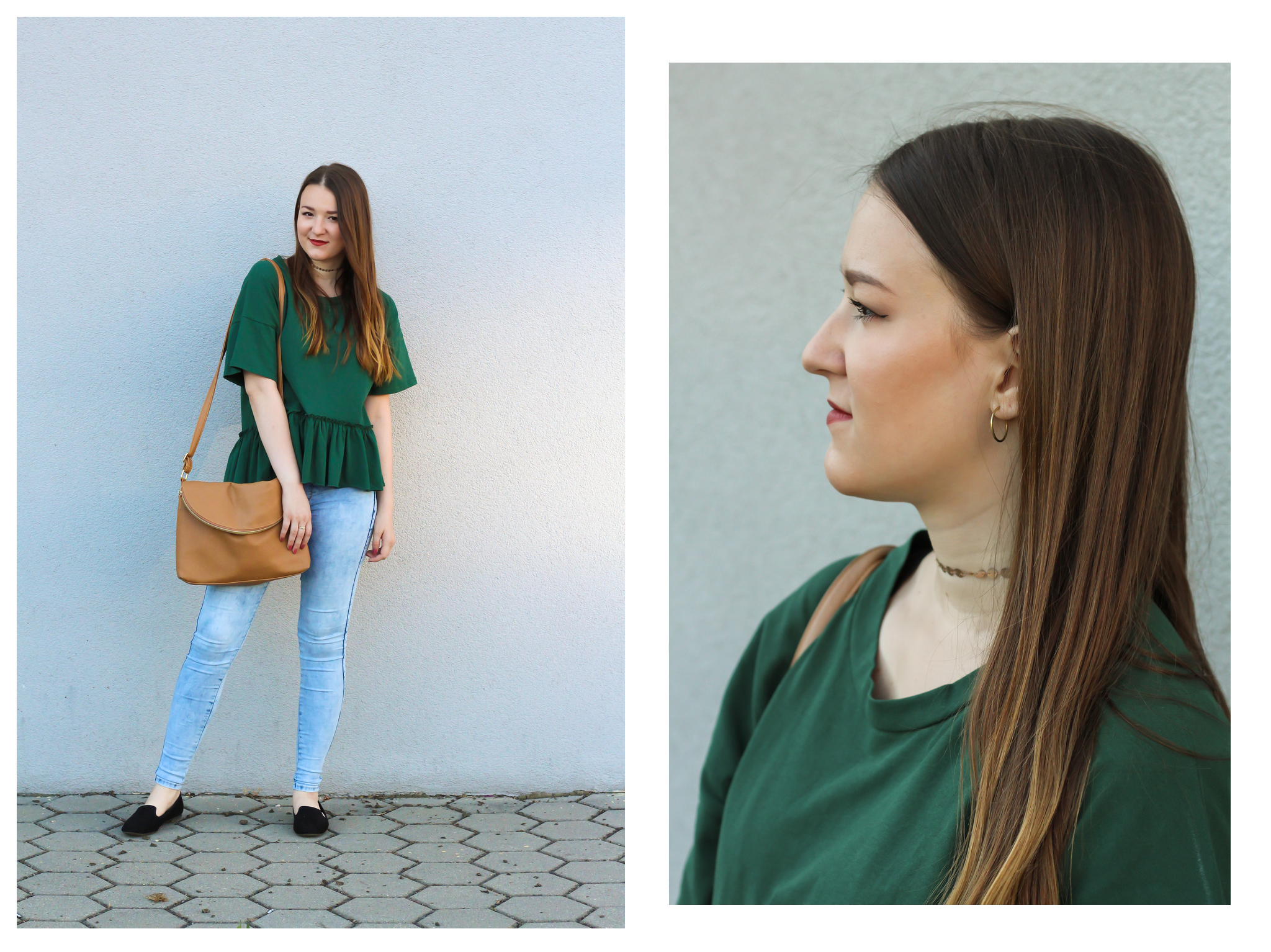 zaful green outfit look