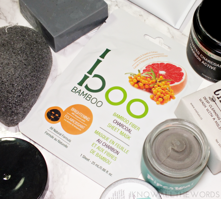 choosing charcoal boo bamboo brightening bamboo fibre charcoal sheet mask