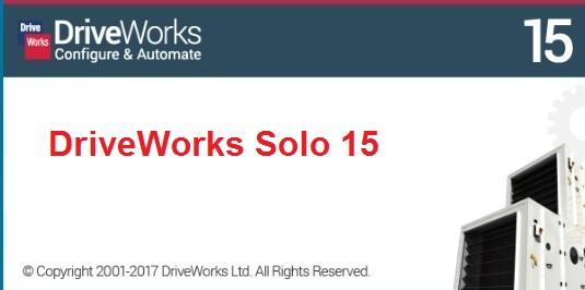 DriveWorks Solo v15 SP0 for SW2010-2017 full