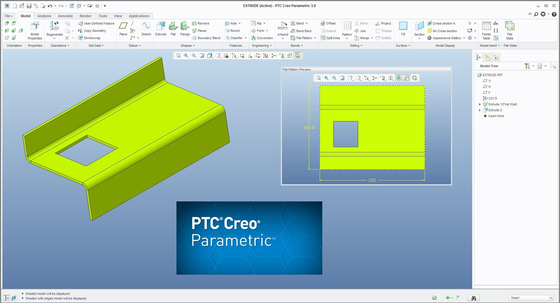 Working with PTC Creo parametric 3.0 M110 - 32bit - 64bit full crack