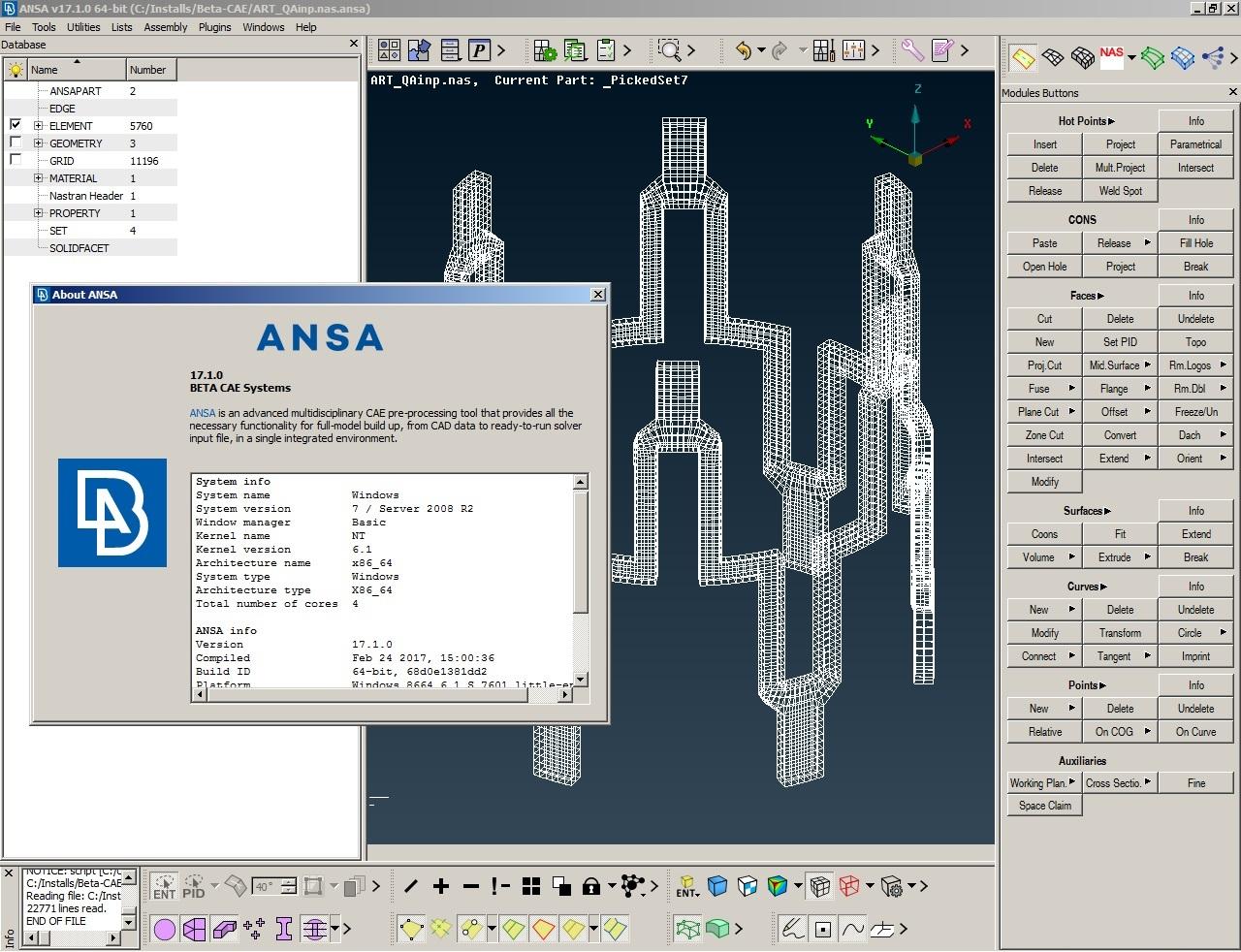 BETA CAE ANSA 17.1.0 win64 full license