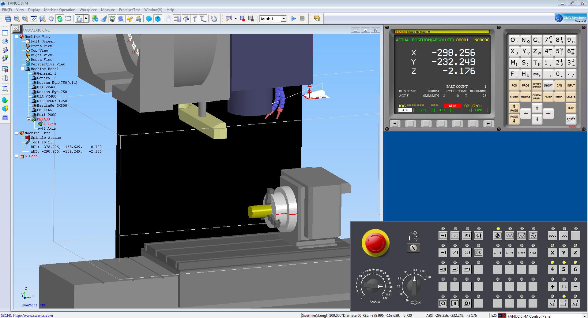 download Nanjing Swansoft CNC Simulator 7.1.2