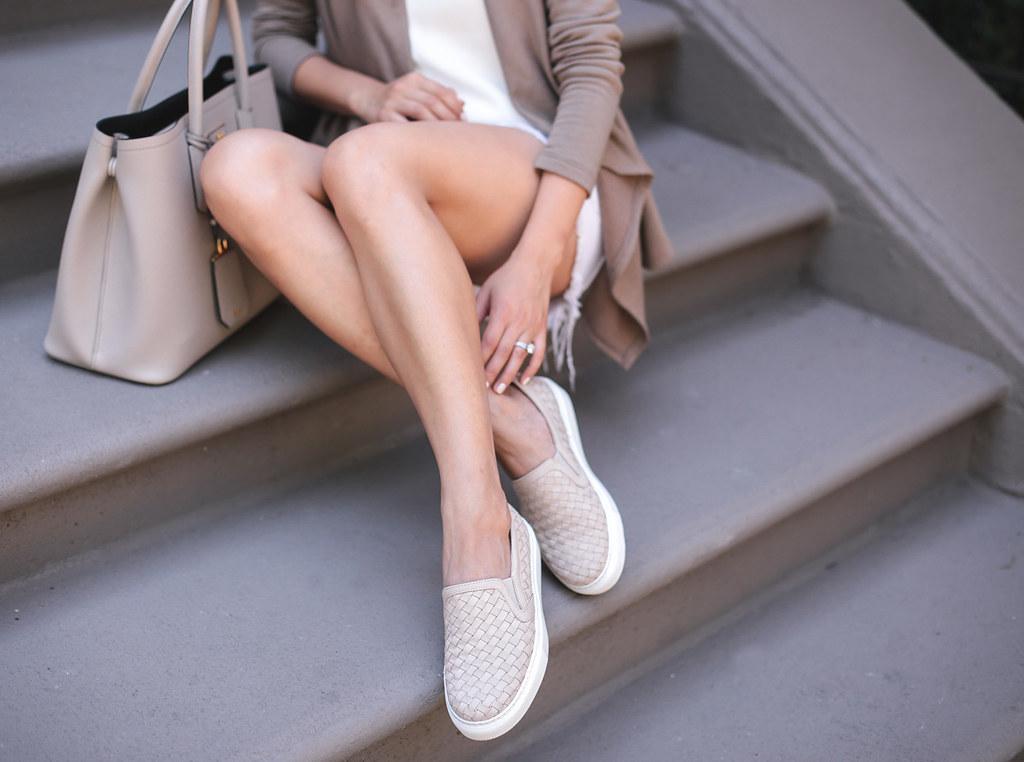 mgemi cerchio italian slip on sneaker woven leather