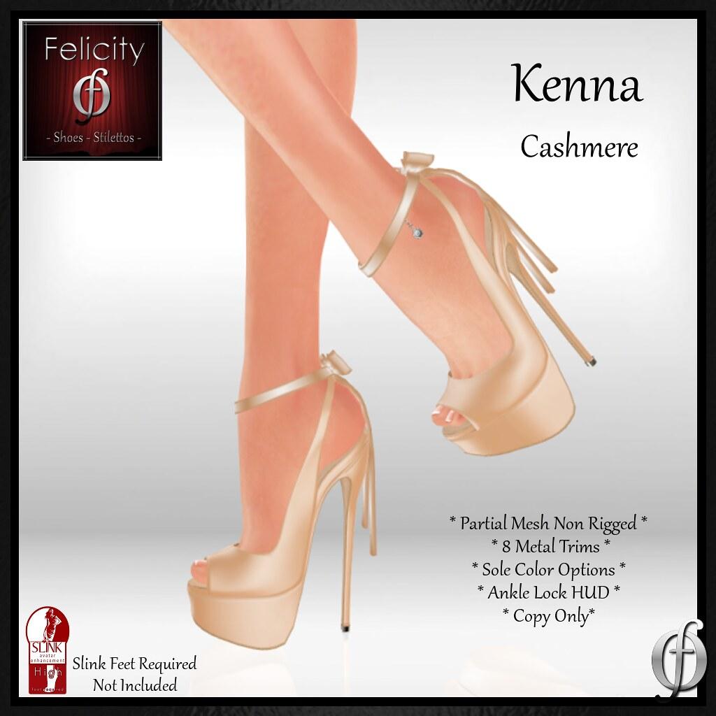 NEW Felicity - Kenna Stilettos Cashmere (Slink) AVA - SecondLifeHub.com