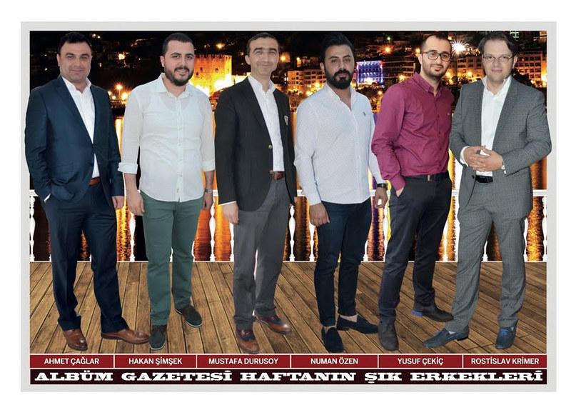 Ahmet Çağlar, Hakan Şimşek, Mustafa Durusoy, Numan Özen, Yusuf Çekiç