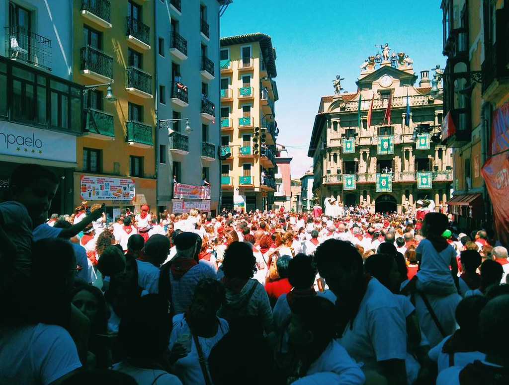 Despedida de los gigantes. #sanfermin2017 #Pamplona #vsco #photography #phonephoto