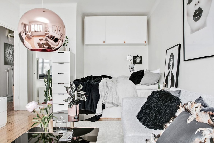 Small Chic Studio Apartment