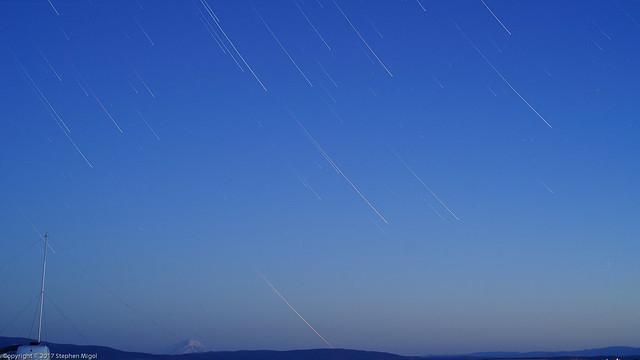 Morning Stars over Shasta