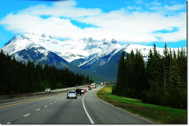 一號公路(Trans-Canada HwyAB-1)沿途雪景 8
