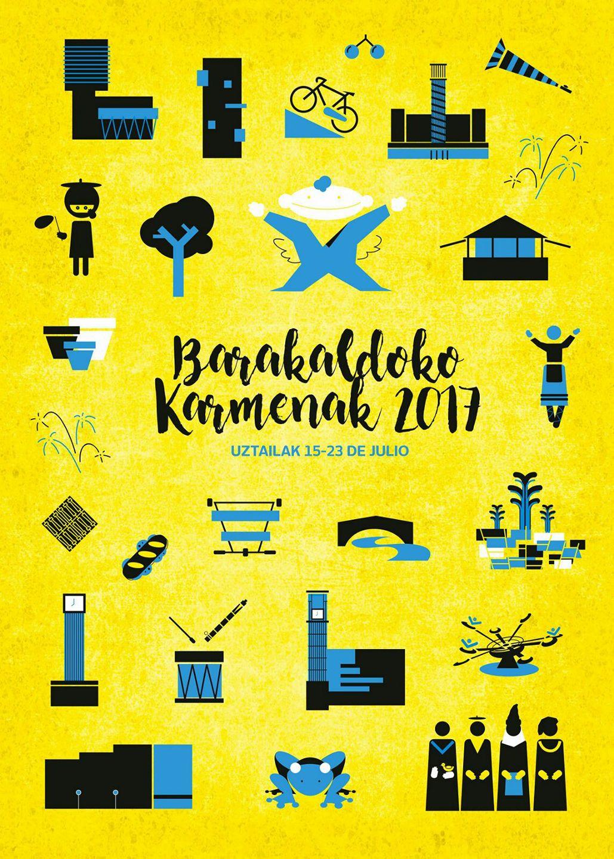 Cartel de Fiestas de Barakaldo 2017